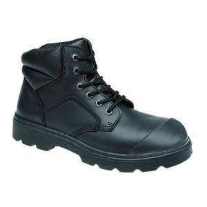 2418 Black Chukka Boot with Scuff Cap